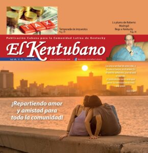 Kentubano February Cover