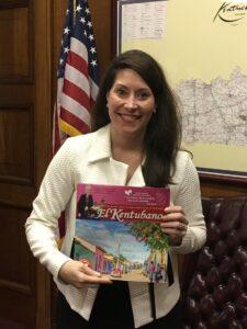 Secretaria de Estado de Kentucky, Alison L. Grimes tambien lee El Kentubano