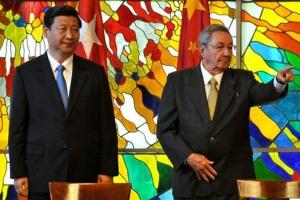Xi Jinping y Raul