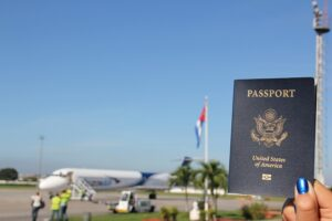 El Kentubano US Passport