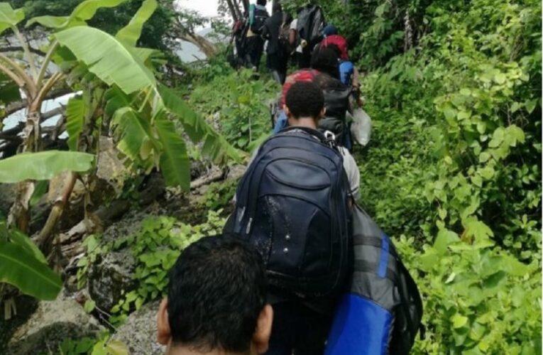Emigrante número 15,000 que solicita asilo en la frontera México-EEUU