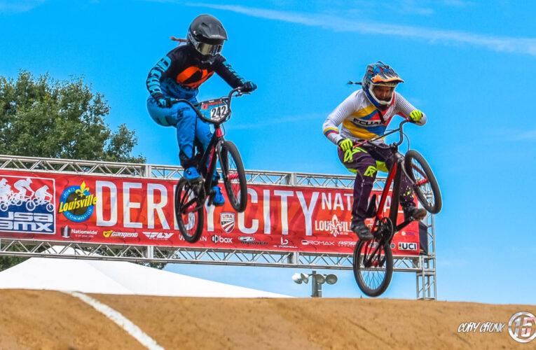 Ciclistas de BMX compiten en Louisville por Derby City Nationals