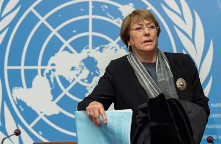 ONU: El silencio de Bachelet sobre Cuba es una vergüenza